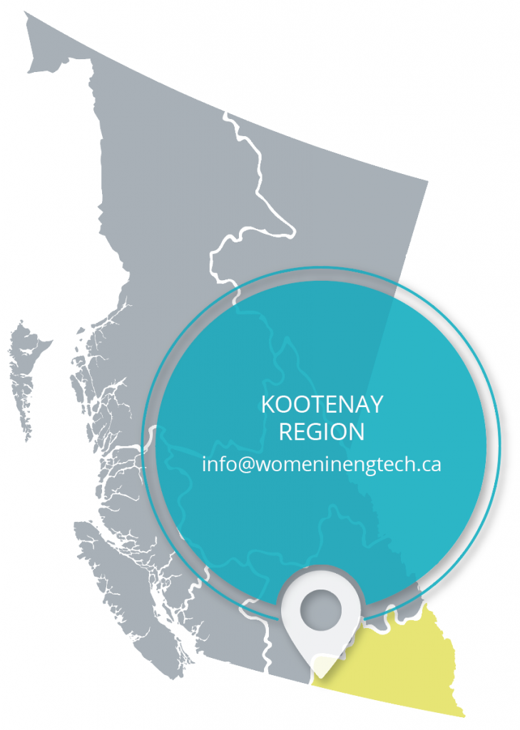 kootenay region map